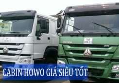 cabin howo A7 gia re