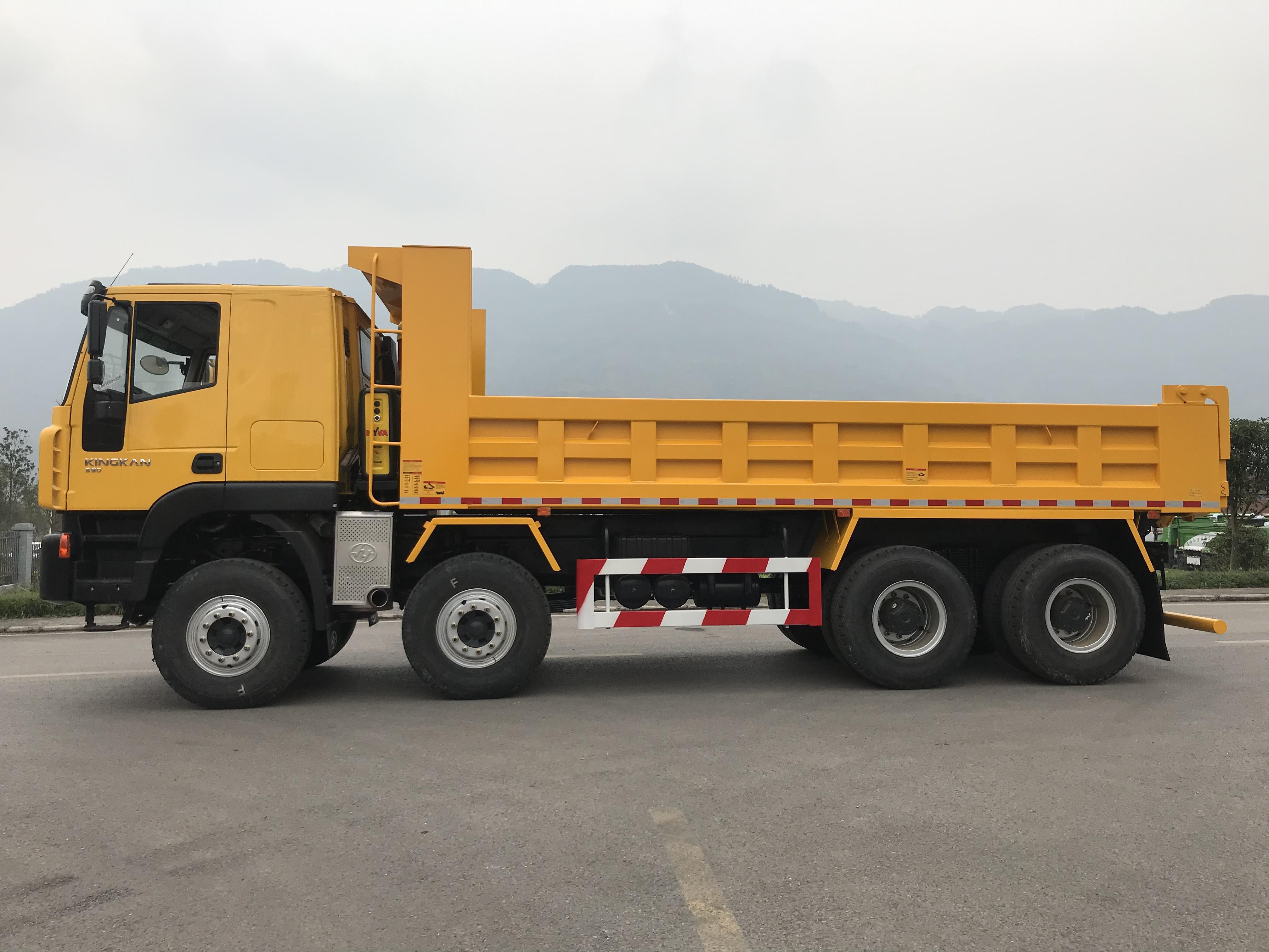 Xe tải ben Iveco Hongyan